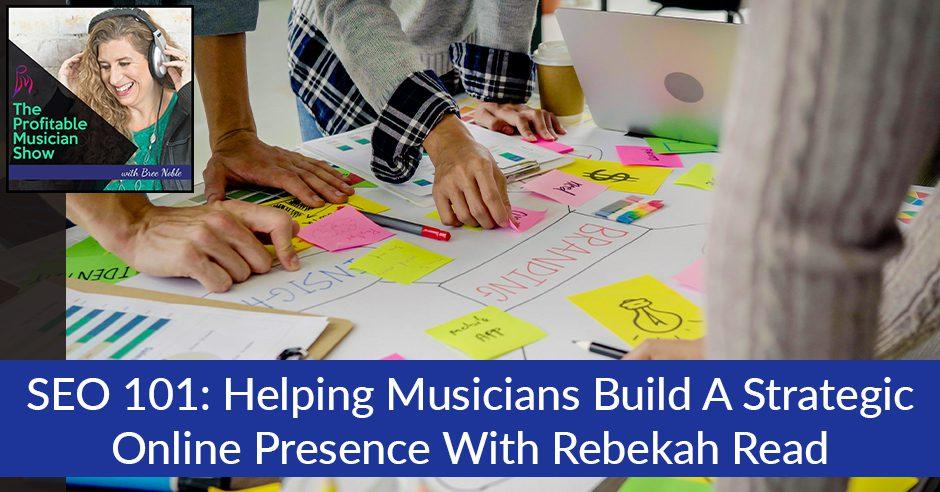 TPM 38 Rebekah Read   SEO For Musicians